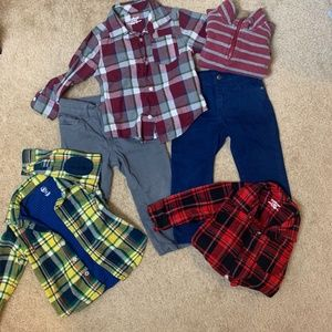 Other - Boys 2T Bundle, Shirts, Pullover, Pants